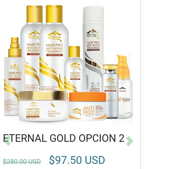 Eternal Other Spirit Beauty Gold Package 2 Poshmark